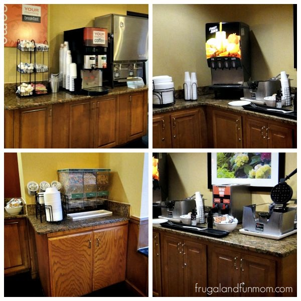 Breakfast Buffet at Comfort Inn Orlando International Drive