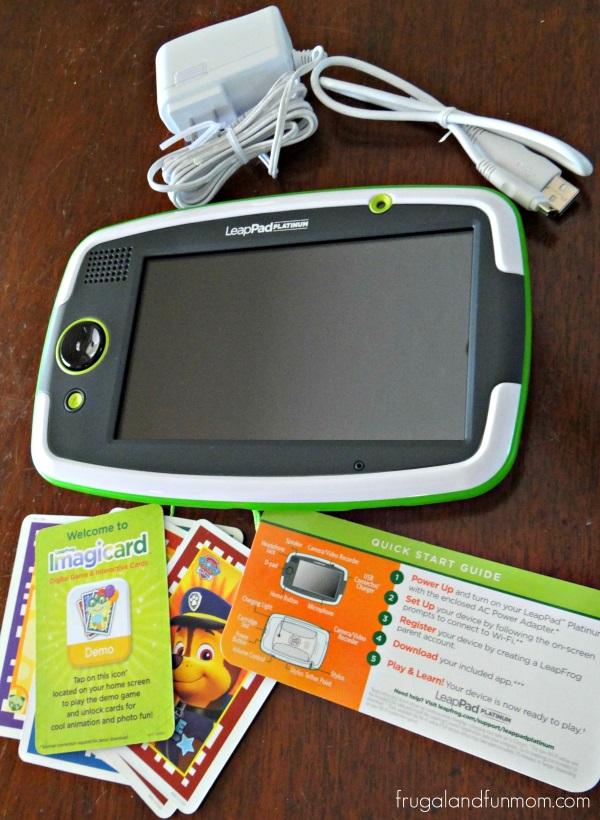 LeapFrog LeapPad Platinum Setup