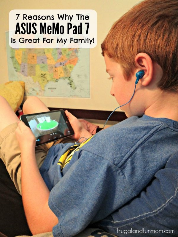 Reasons Why The ASUS MeMo Pad 7 Is Great For My Family!