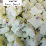 Avocado and Bacon Potato Salad Recipe!