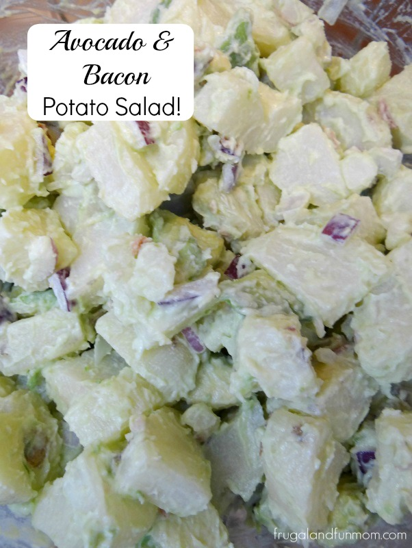 Avocado and Bacon Potato Salad Recipe