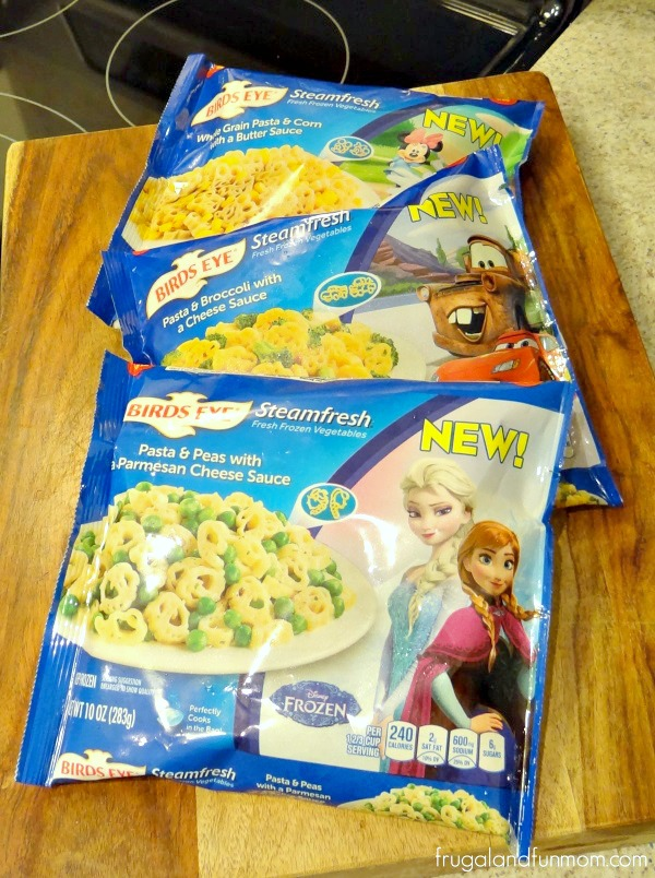 Birds Eye Steamfresh Disney Vegetables Pasta
