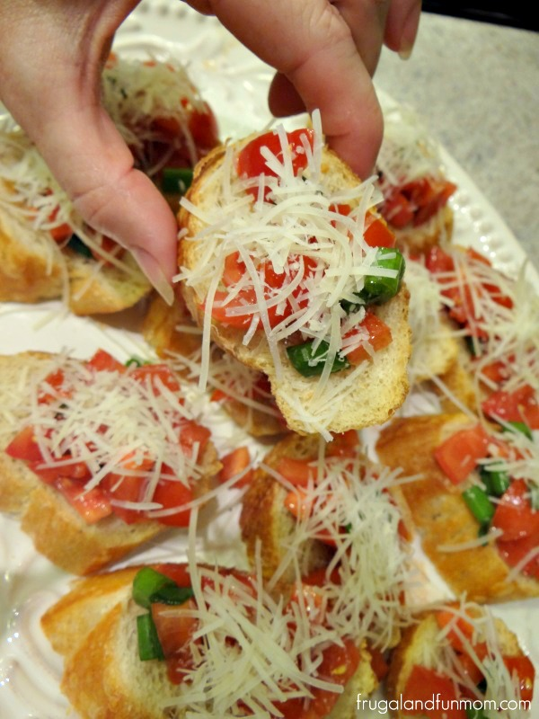 Campari Bruschetta Recipe