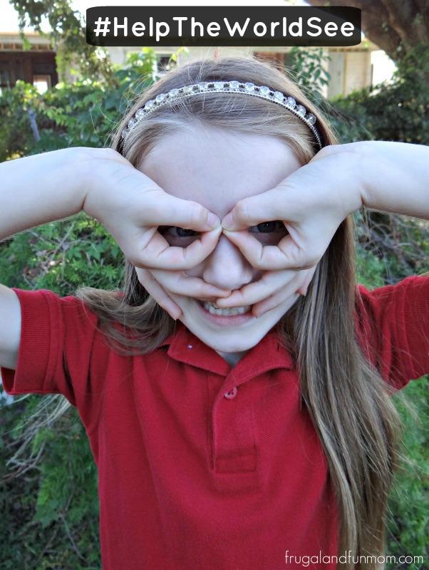 Daughter OneSight hand glasses