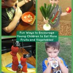 Fun Ways to Encourage Young Children to Eat More Fruits and Vegetables! #SproutFoods