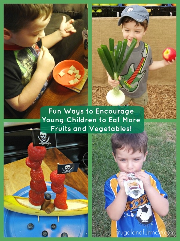 Encourage Young Children to Eat More Fruits and Vegetables!