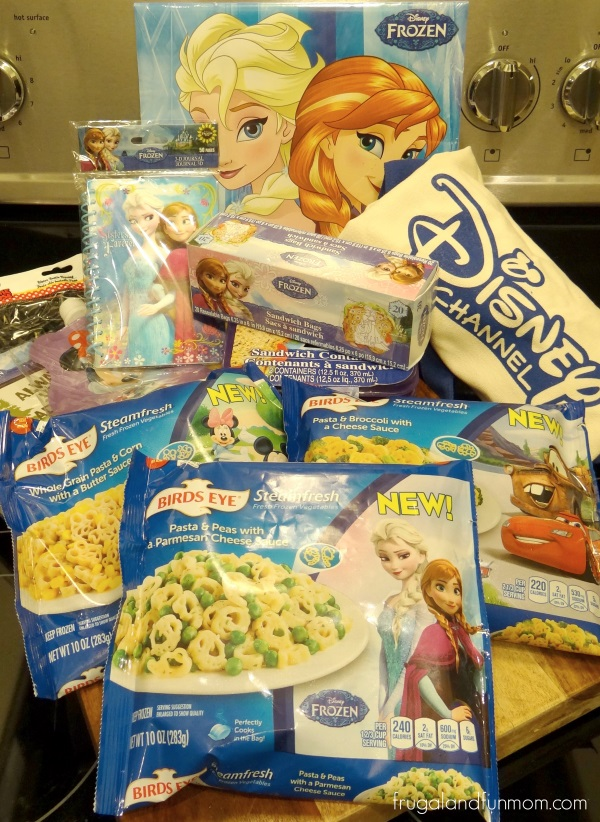Frozen Birds Eye Steamfresh Disney Prize Pack