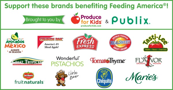 Publix and Produce for Kids Fall 2015