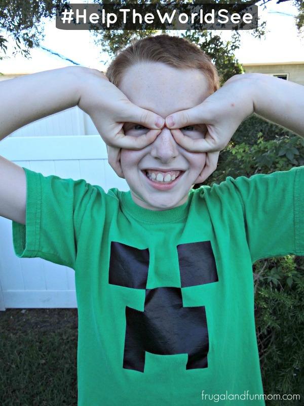 Son OneSight hand glasses