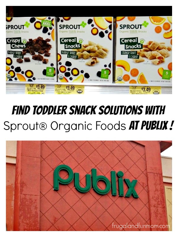 Sprout Toddler foods at Publix