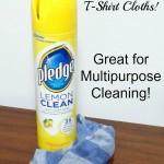 DIY T-Shirt Cloths for Multipurpose Cleaning!