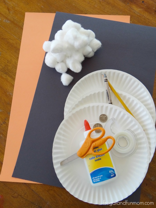 Items for Star Wars Inspired Paper Plate BB-8 Robot
