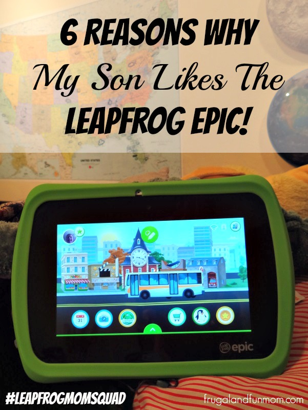 LeapFrog Epic Home Screen