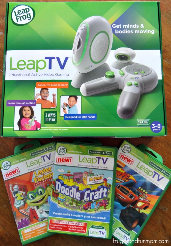 LeapTV with Games