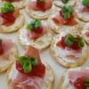 Prosciutto and Cranberry Crackers Appetizer For Holidays!