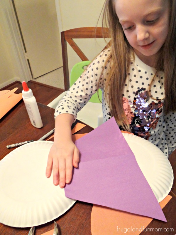 Adding a skirt to the Florida Snowman Craft