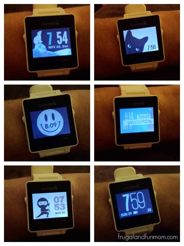 Examples-of-Watch-Faces-on-the-Garmin-vívoactive