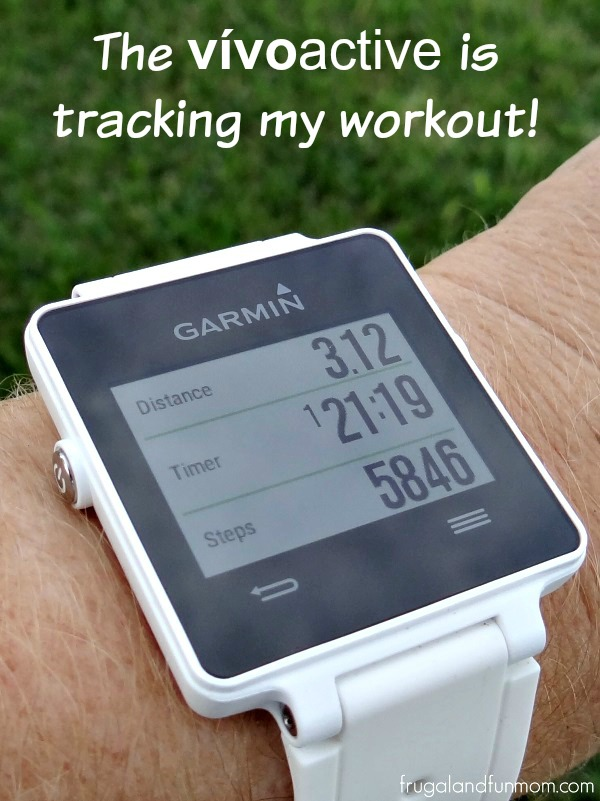Garmin-vívoactive-tracking-workout