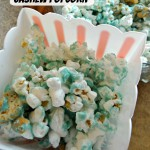 White Chocolate Cashew Popcorn!