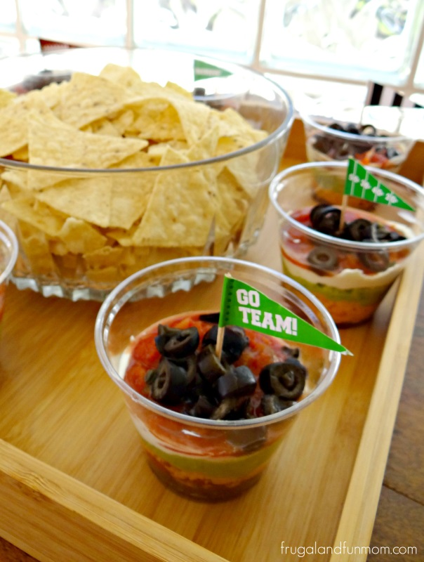7 Layer Dip for Tortilla Chips