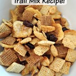 Animal Chow Trail Mix Recipe!