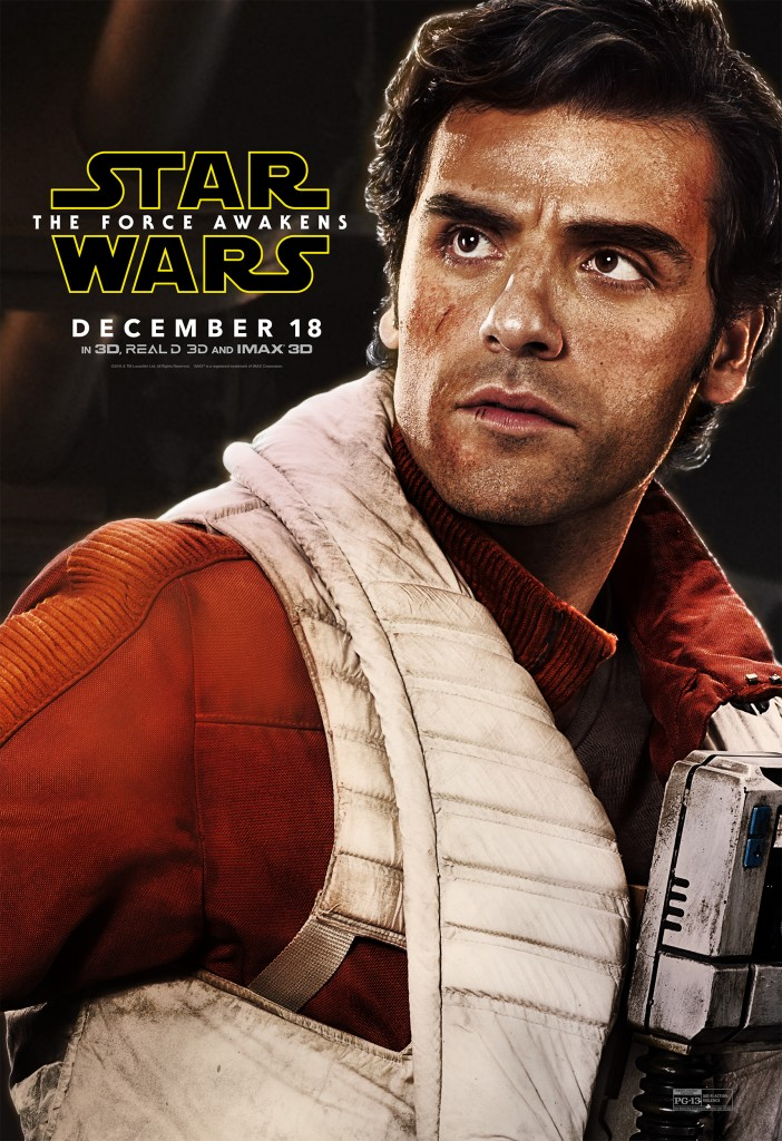Poe Dameron character poster