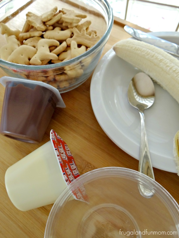 Animal Cracker Parfait Recipe Ingredients