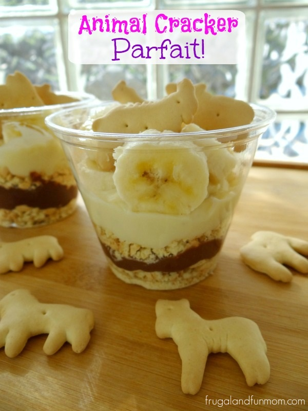 Animal Cracker Parfait Recipe