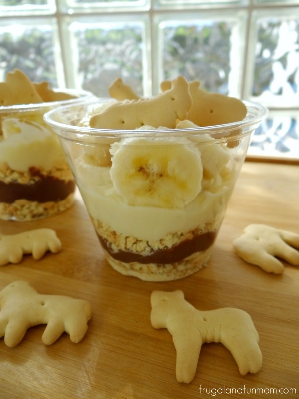 Animal Cracker Parfait