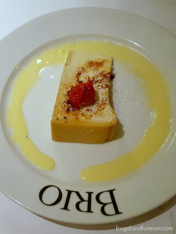 BRIO Tuscan Grille New York Style Cheesecake