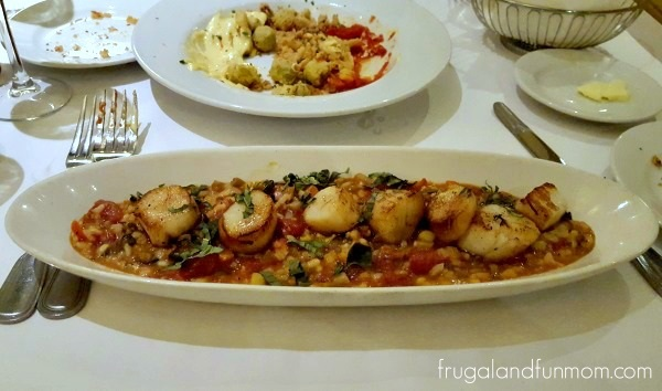 BRIO Tuscan Grille Sea Scallops & Ratatouille Risotto