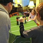 Easy Pizza Dinner Night With A Football Table Game! #BigGame #FamilyPizzaCombo