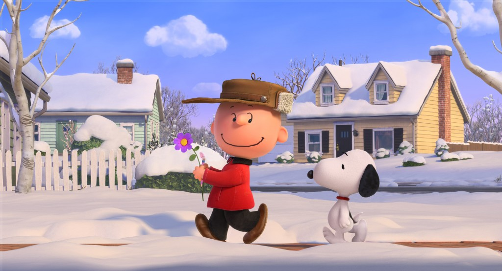 The Peanuts Movie Charlie Brown and Snoopy