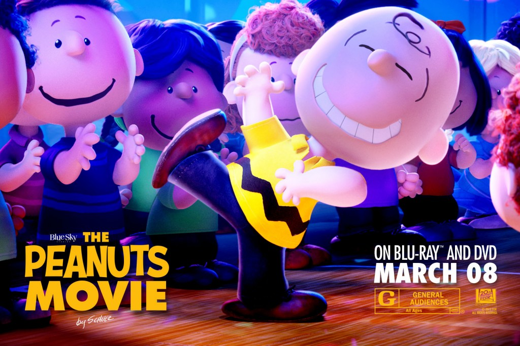 The Peanuts Movie on BluRay and DVD