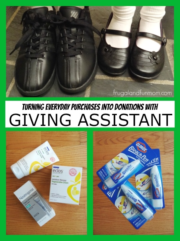 Using Giving Assistant to Make Purchases and Donate