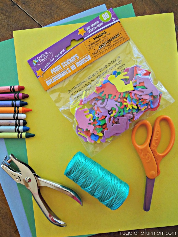 What you need to make a Jungle Book Craft