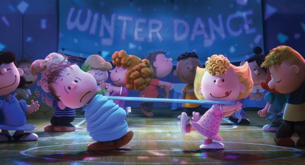 Winter Dance Scene from The Peanuts Movie