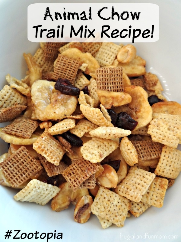Animal Chow Trail Mix