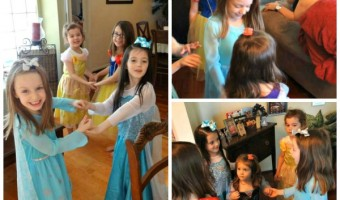 Be Our Guest Tea Party! My Daughter's Disney Princess Birthday!