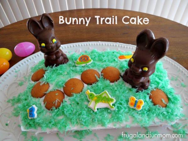 Easter Bunny Chocolate Cake