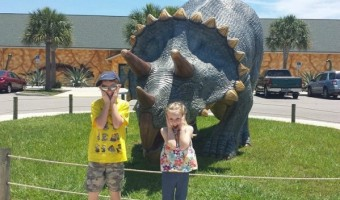 Our 1st Trip To Dinosaur World Florida! Plus, $2 off Per Adult Coupon!