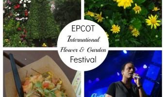 My Trip To The EPCOT International Flower & Garden Festival!