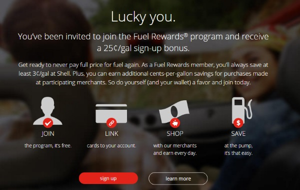 Fuel Rewards $25 Cents offer