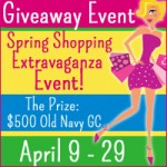 $500 Old Navy Gift Card Giveaway Event! Ends 4/29 12:01am!