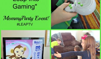 LeapTV, Party Time and Gaming With Education, Dance, and Sports! #LeapTV