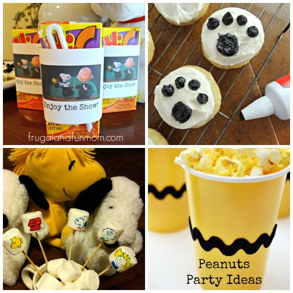 Peanuts-Party-Ideas-with-Crafts-and-Food