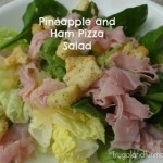 Pizza Salad Recipe and the Fresh Express 30 Day Salad Swap! #SaladSwap Plus, FREE App Download!