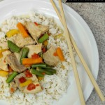 Pork and Vegetables With A Peanut Sauce Recipe! #SmithfieldFlavor #BackToSchoolRecipes
