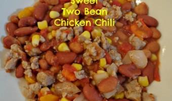 Sweet Two Bean Chicken Chili Recipe!
