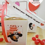 Kung Fu Panda 3 Valentine's Day Chinese Take Out Boxes! #FandangoFamily #KungFuPanda